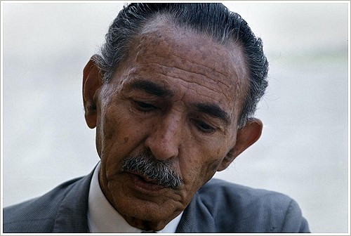 Hassan Fathy - Portrait, (c) Bruno Barbey/Magnum Photos