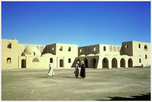 Neu-Qurna in den 1950er Jahren (c) Christopher Little, Aga Khan Trust for Culture
