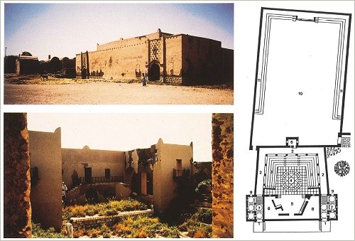Hassan Fathy Village, Luxor Westbank: Theater 1982 vor der Restaurierung, (c) Concept Media / Aga Khan Trust for Culture
