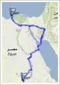 Cross Egypt Challenge - Route