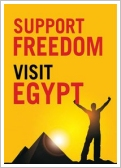 Support Freedom, Visit Egypt!