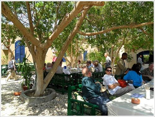 South Asasif Conservation Project Conference: Mittagessen im Marsam-Hotel, Luxor Westbank