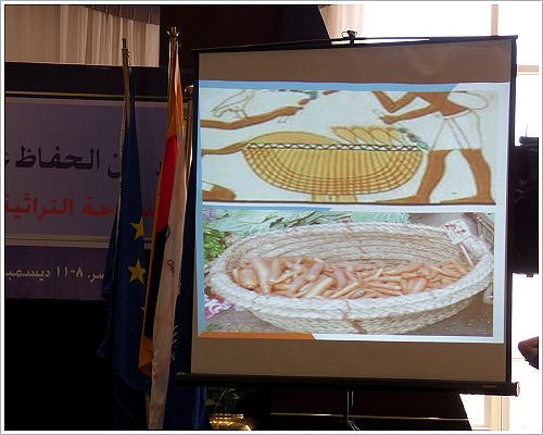 HU-BTU First International Conference on Heritage Conservation and Site Management - Aus dem Vortrag von Hanaa El-Behairy