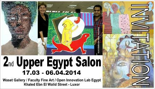 2nd Upper Egypt Salon in Luxor, (c) Kris Huybrechts