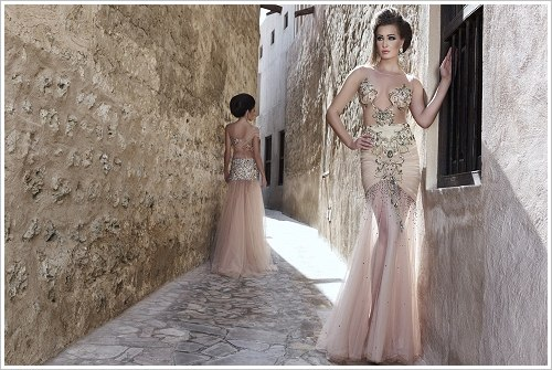 "Aus Mona Al Mansouris Collection ""Desert Princess"""