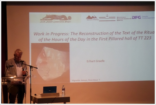 2. South Asasif Conservation Project Conference - Erhart Graefe
