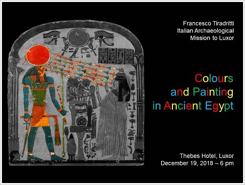 Francesco Tiradritti: Colours and Painting in Ancient Egypt